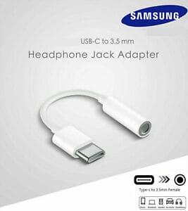 מתאם אוזניות מ-USB-C לחיבור AUX מקורי