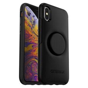 כיסוי שחור OtterBox Symmetry לאייפון XS