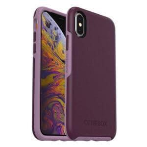 כיסוי סגול OtterBox Symmetry לאייפון XS