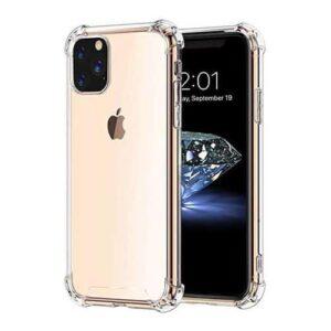כיסוי שקוף עם פינות מחוזקות אייפון 12 פרו