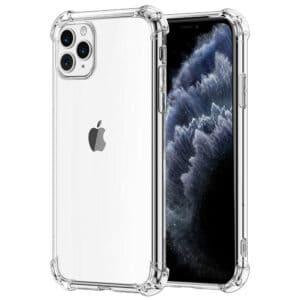 כיסוי שקוף עם פינות מחוזקות אייפון 11 פרו מקס