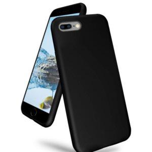 כיסוי סיליקון שחור אייפון 8 פלוס