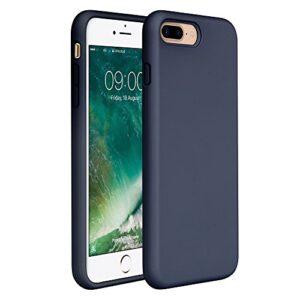 כיסוי סיליקון כחול אייפון 8 פלוס