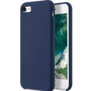 כיסוי סיליקון כחול אייפון 7