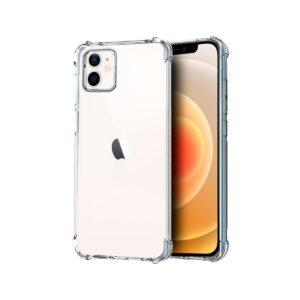 כיסוי שקוף עם פינות מחוזקות אייפון 12 מיני