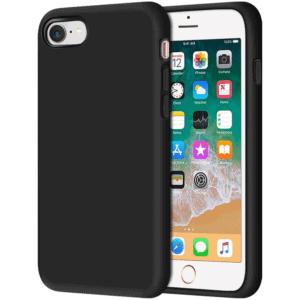 כיסוי סיליקון שחור אייפון 7