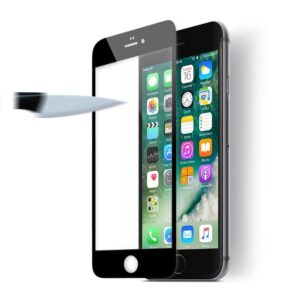 מגן זכוכית מלא אייפון 7 פלוס שחור