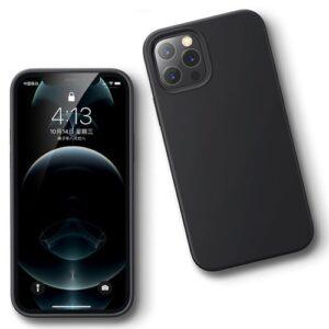 כיסוי סיליקון שחור אייפון 13 פרו