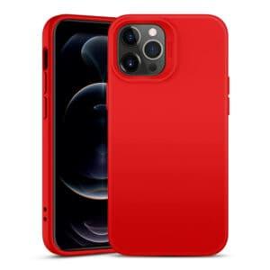 כיסוי סיליקון אדום אייפון 13 פרו מקס