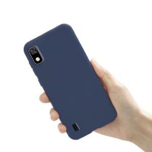 כיסוי סיליקון כחול סמסונג גלקסי A10