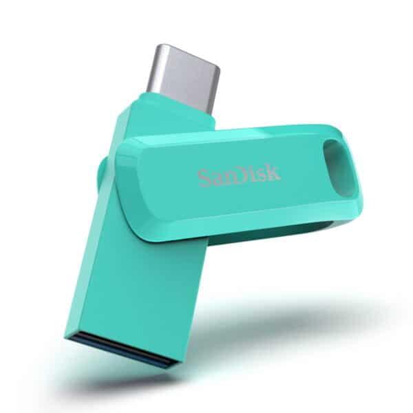 זיכרון נייד Ultra Dual Drive Go USB Type- C™ 512GB בצבע ירוק