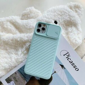 Slide Camera Lens Protection Phone Case for iphone 11 Pro Max case for iphone 7 8 6 6S Plus X XR XS Max TPU Soft Silicone Cover