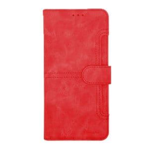 כיסוי ארנק לאייפון 12 פרו מקס אדום