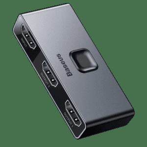 מפצל מבית Baseus דגם Matrix 2in1 or 1in2 HDMI