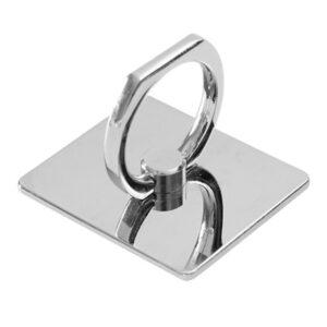 טבעת אחיזה לסלולר בצבע ניקל
