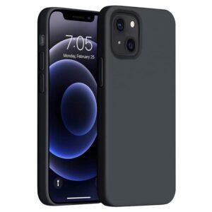 כיסוי סיליקון שחור אייפון 13 מיני