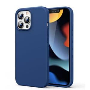 כיסוי סיליקון כחול אייפון 13 פרו מקס