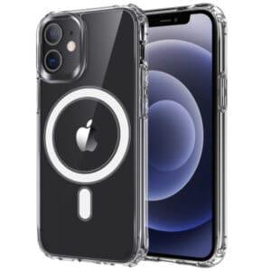 כיסוי שקוף חזק תומך טעינה אלחוטית Magsafe אייפון 11