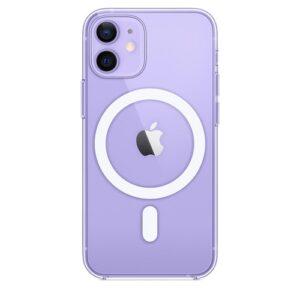 כיסוי שקוף חזק תומך טעינה אלחוטית Magsafe אייפון 12